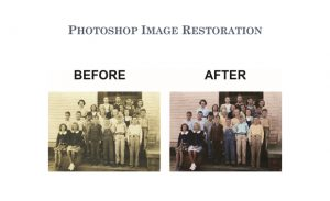PHOTOSHOP IMAGE RESTORATION